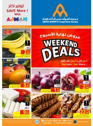 Exclusive Weekend Deals - Pay Less Get More