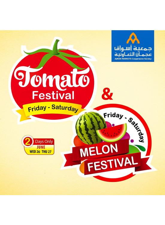 Amazing Melon & Tomato Festival