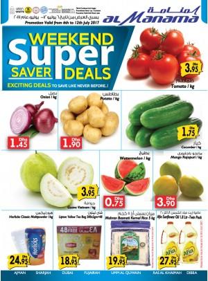 Weekend Super Saver Deals