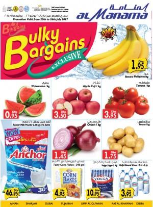Bulky Bargains