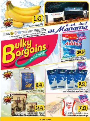 Bulky Bargains - Al Khor Ajman