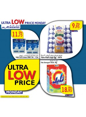 Ultra Low Price Monday Deals