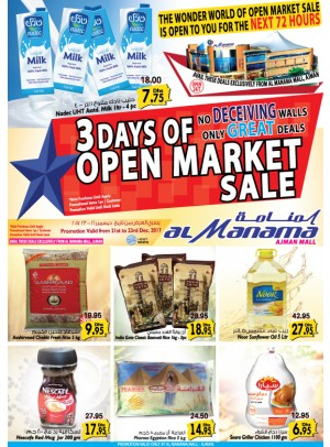 3 Days of Open Market Sale - Great Deals - Al Manama Mall, Ajman