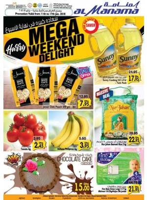 Mega Weekend Delight Offers