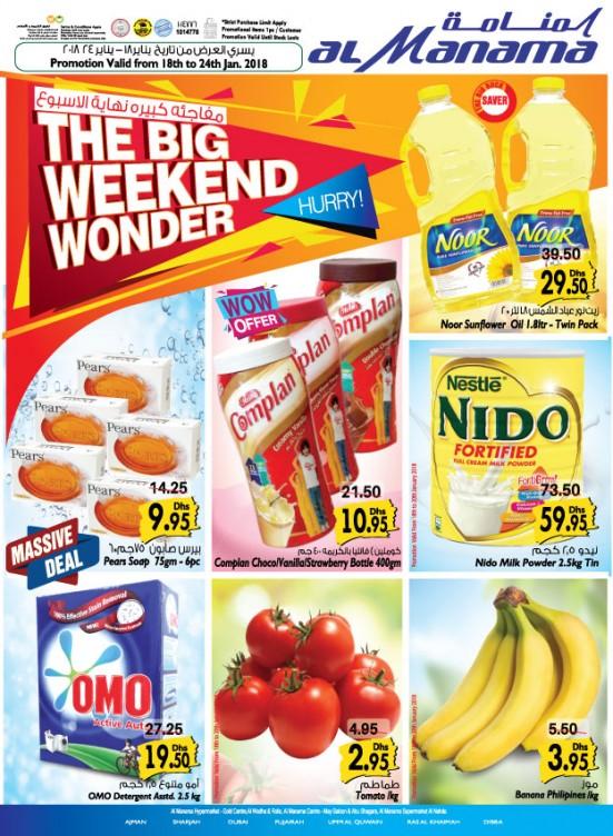 The Big Weekend Wonder