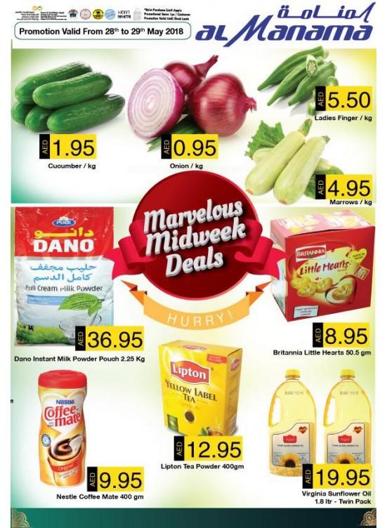 mid week deals