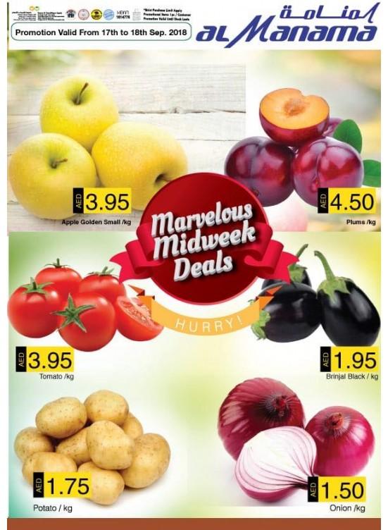 Marvelous Midweek Deals