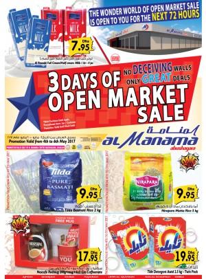 3 Days of open Market Sale - Abu Shagara
