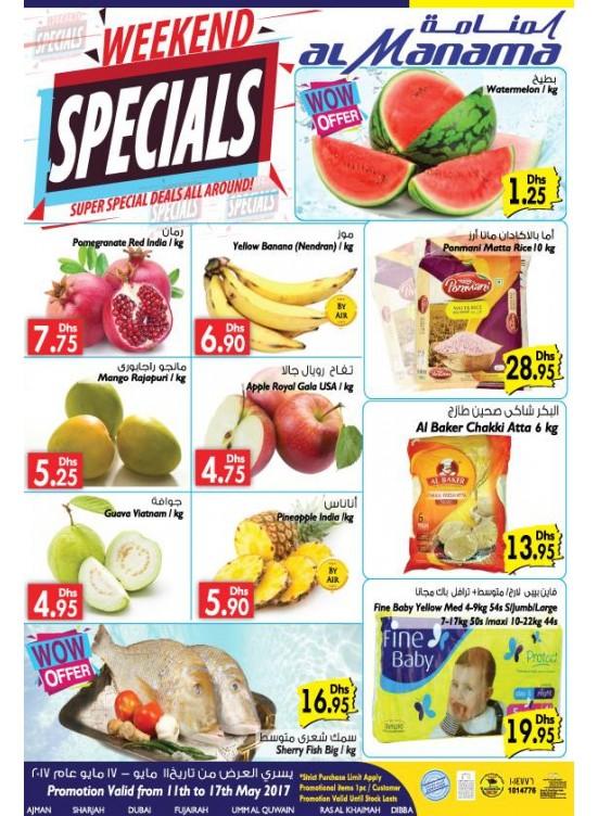 Special Deals All Around
