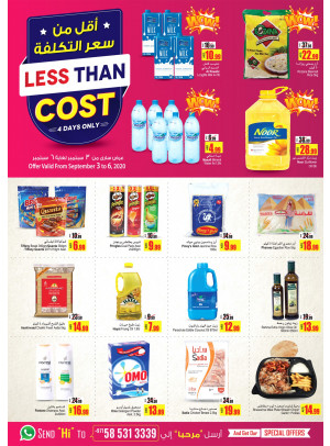 Less Than Cost