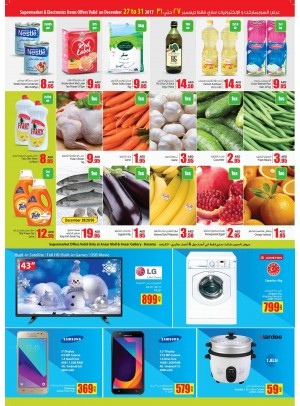 Supermarkets & Electronics Items Offers