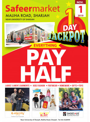 One Day Jackpot Offer - Safeer Market Maliha