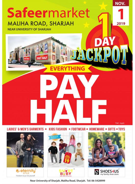 One Day Jackpot Offer - Safeer Market Maliha