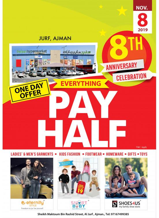 8th Anniversary Celebration Offer - Al Jurf, Ajman