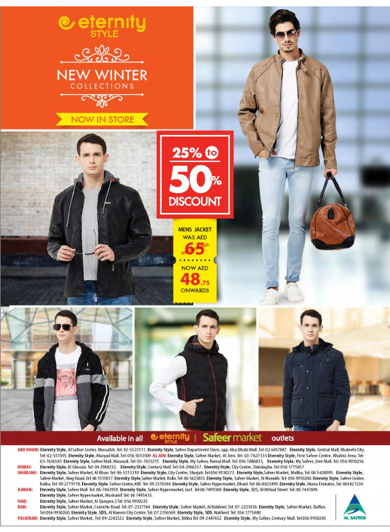 Winter Wear Collection - 25% To 50% Off
