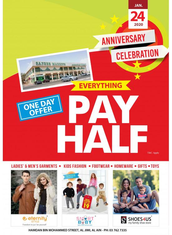 Anniversary Celebration Offers - Al Jimi, Al Ain