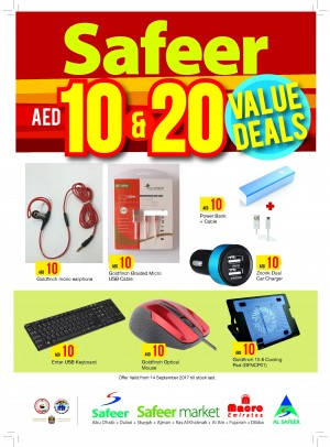 Value Deals 10 & 20 AED