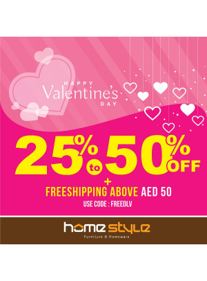 Valentine's Day Sale 25 - 50% Off