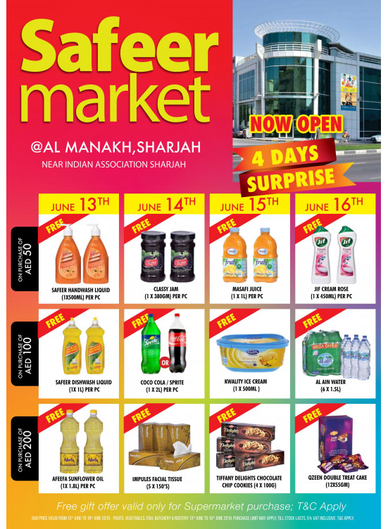 4 Days Surprise - Al Manakh, Sharjah