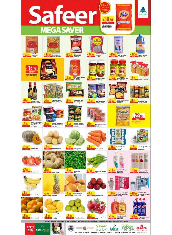 Mega Saver from Al Safeer Hypermarket until 18th September