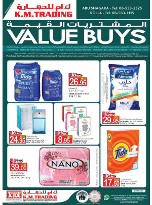 Value Buys - Abu Shagara & Rolla