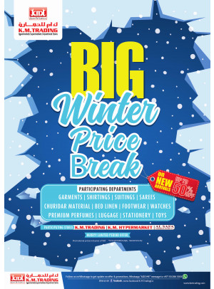 Big Winter Price Break - Up To 50% Off