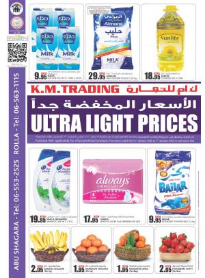 Ultra Light Prices - Rolla & Abu Shagara