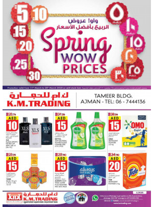 Spring Wow Prices - Ajman