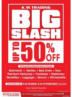 Big Slash - Up To 50% Off
