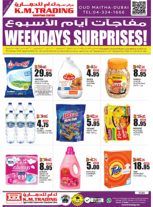 Weekdays Surprises - Dubai
