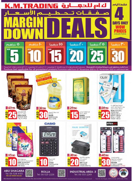 Margin Down Deals - Sharjah