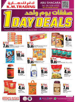 One Day Deals - Abu Shagara