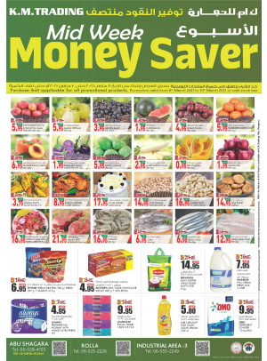 Midweek Money Saver - Sharjah