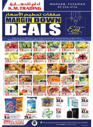 Margin Down Deals - Fujairah