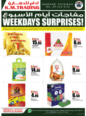 Weekdays Surprises - Fujairah