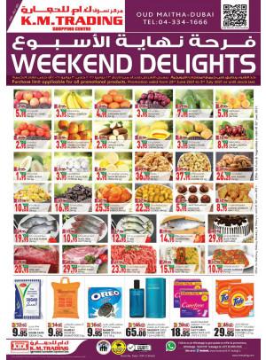 Weekend Delights - Dubai