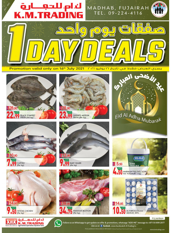 One Day Deals - Fujairah