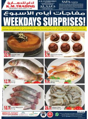 Weekdays Surprises - Abu Dhabi
