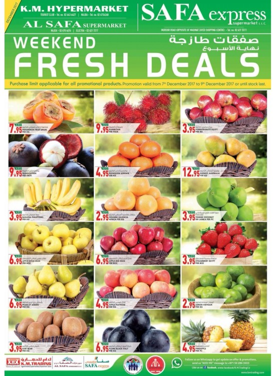 Weekend Fresh Deals - Abu Dhabi Branches