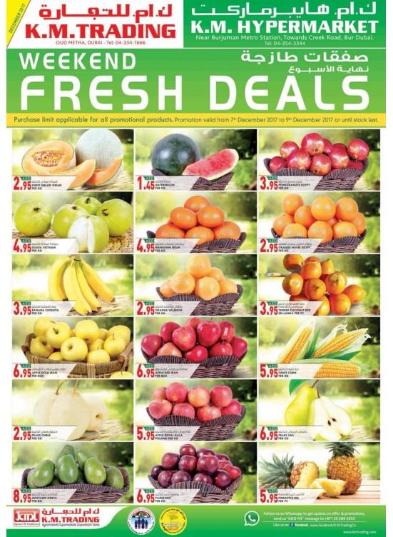 Weekend Fresh Deals - Dubai Branches