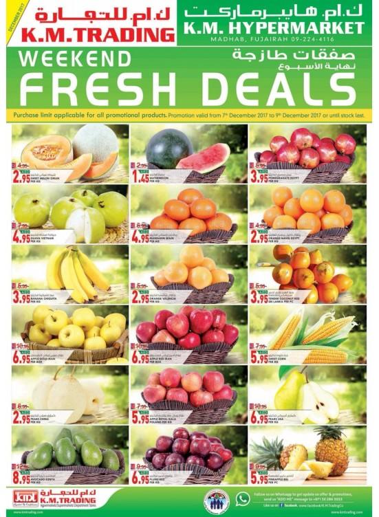 Weekend Fresh Deals - Fujairah Branch