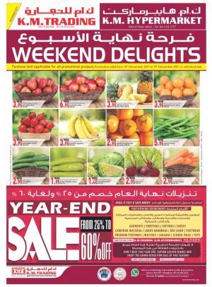 Weekend Delights - Year End Sale Up To 60% - Abu Shagara, Industrial Area3 Sharjah