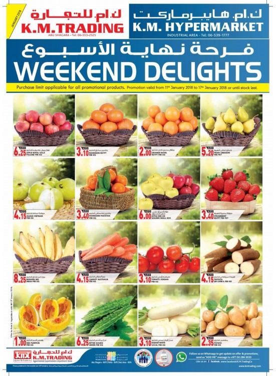 Weekend Delights - Sharjah Branches