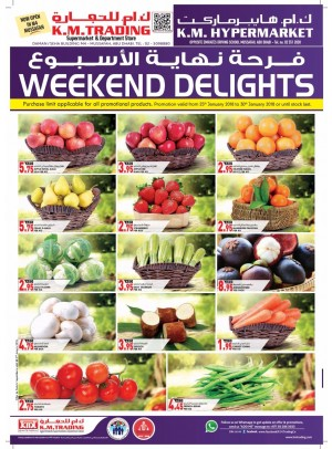 Weekend Delights - Mussafah Branches