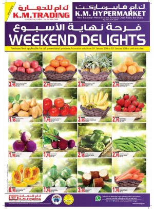 Weekend Delights - Dubai Branches