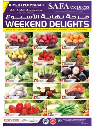 Weekend Delights - Abu Dhabi Branches
