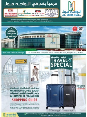 Travel Special Offers - Al Waha Mall, Al Ain Branch