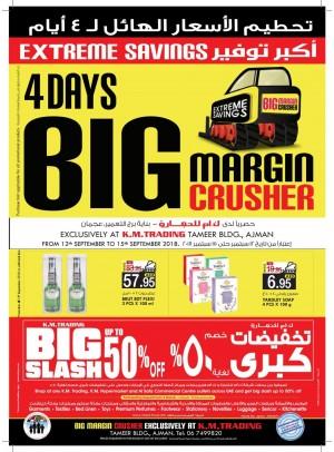 4 Days Big Margin Crusher - Tameer Mall, Ajman