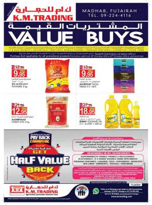 Value Buys - Fujairah Branch