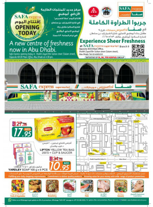 Inaugural Offers - Safa Express (Salam St.)